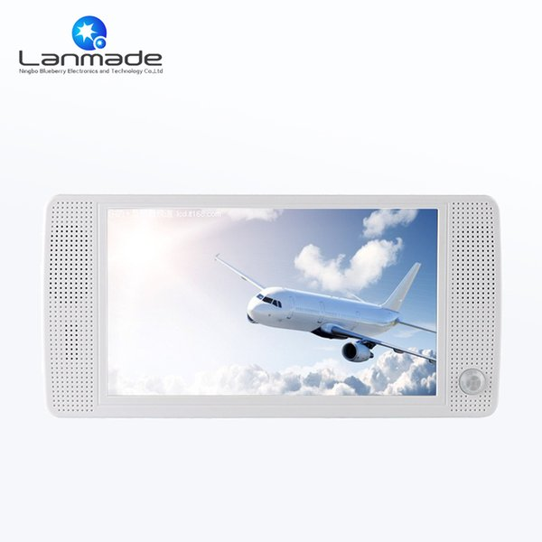 Full hd Lanmade plastic audio play display cases for retail advertising display motion sensor media player