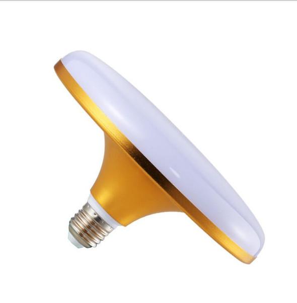 Factory direct sale led gold saucer light bulb factory warehouse lighting E27 screw high power energy saving bulb