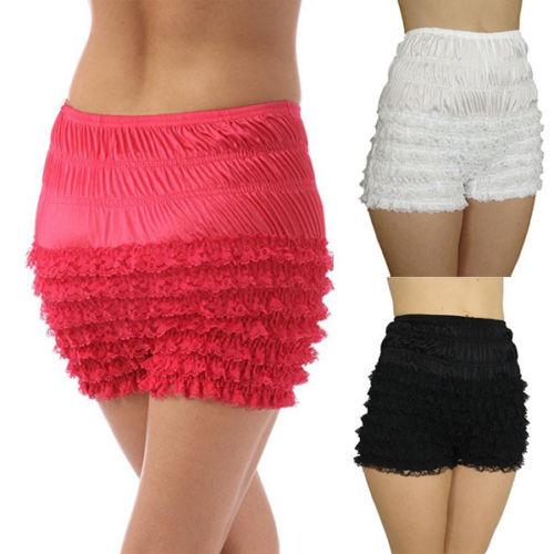 2018 Thefound Newest Lace Boyshort Womens Sexy Ruffle Panties Underwear Tanga Dance Bloomers Sissy Booty Shorts Hot Fashion