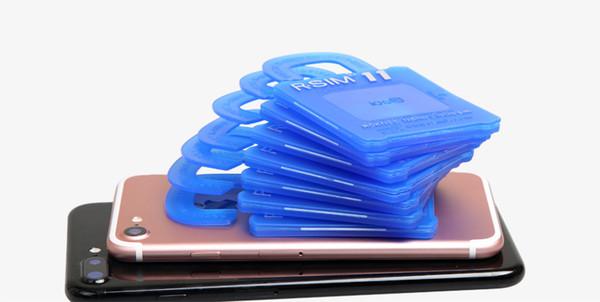 R-SIM11 For iphone7 6S 6 plus 5S 5 IOS10 IOS 9 ios8 7 GSM CDMA WCDMA 4G 3G unlock sim Rsim11