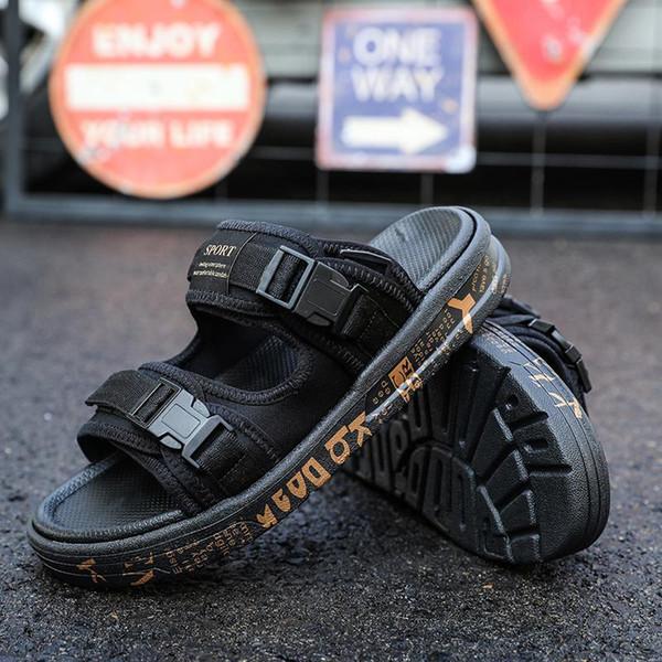 Yeni Güzel Kalite tasarımcı flip flop Terlik Beyni JAPONYA x SUICOKE KISEEOK-044 V Suicoke Depa sandalet Taban Slaytlar