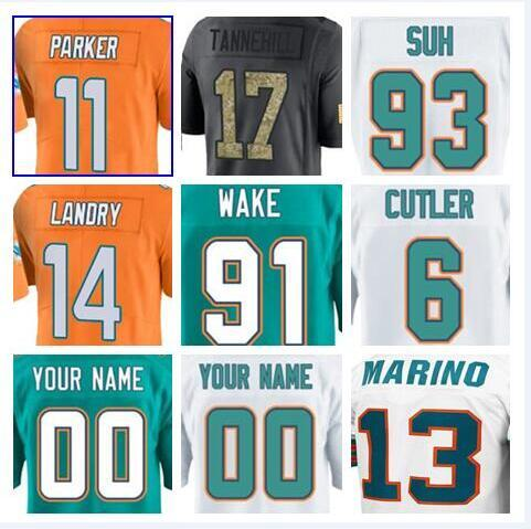 new products 11b4f 51629 2019 Miami Jay Cutler Dolphins Jersey Ryan Tannehill Charles Harris Kiko  Alonso American Football Jerseys Elite Game Mens Womens Youth Kids Cheap  From ...
