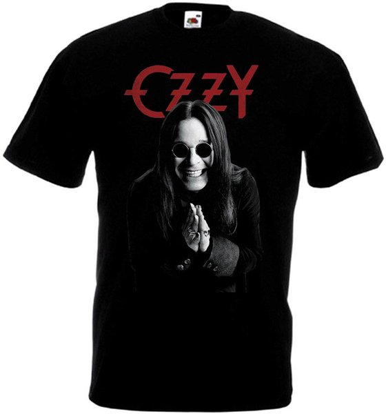 Ozzy Osbourne poster v4 T-shirt black all sizes S...5XL 2018 summer new men cotton Short sleeve T-shirt Brand tops Fashion casual