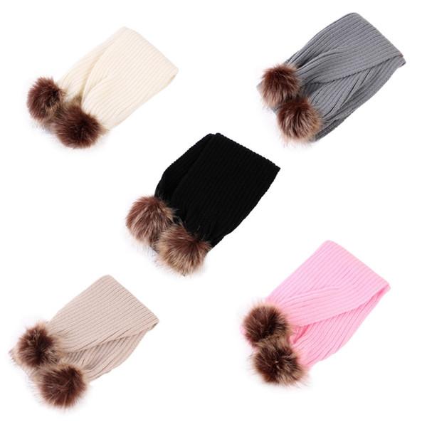 knit baby neck warmer Coupons - Winter Neck Warm Scarf Children Baby Boy  Girls Cute Animal 3e166ce578c7