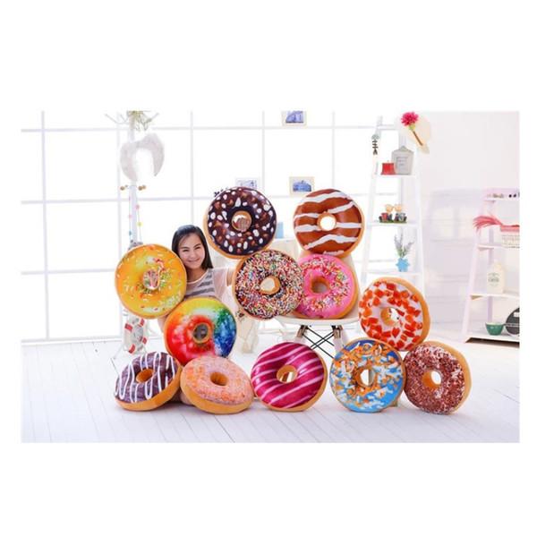 Doughnut Pillow Case Man Woman Chair Soft Cushion Cover Bedding Supplies Plush Toys Home Decor Originality Gifts 9 6fj bb