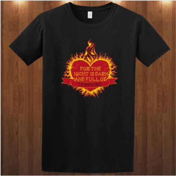 Cheap Custom T Shirt Printing O-Neck Novelty Short Sleeve Mens Game Of Thrones Tees