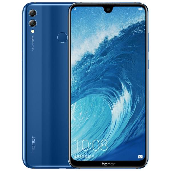 Оригинальный Huawei Honor 8X Max 4GB RAM 64GB/128GB ROM 4G LTE мобильный телефон Snapdragon 636 Ocra Core 7.12 дюймов полный экран 16.0 MP OTA сотовый телефон