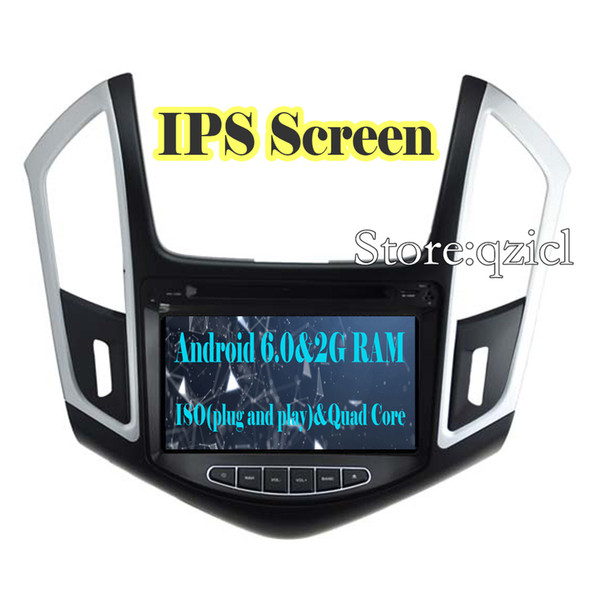 IPS Screen 2G+16G Android 6.0 Car DVD Player for Chevrolet Cruze 2012 2013 2014 2015 Car Radio GPS Free Map