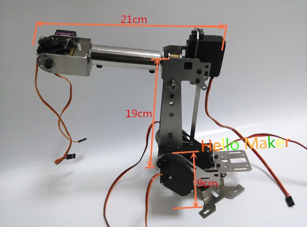 o Maker H675 ABB Industrial Robot Mechanical Arm 100% Alloy Six Degrees on