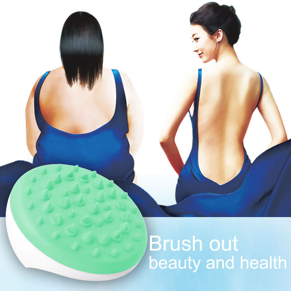 Handheld Magnetic Therapy Slimming Full Body Massager Mini Anti Cellulite Hand Spin Manual Grooming Massager Fingers Bath Rub Brush