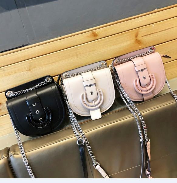 2018 sac femme Mode casual sac à main sac dame petit Mini métal Antirouille sac téléphone portable Sacs à bandoulière Cross Body de haute qualité PU A1209-2