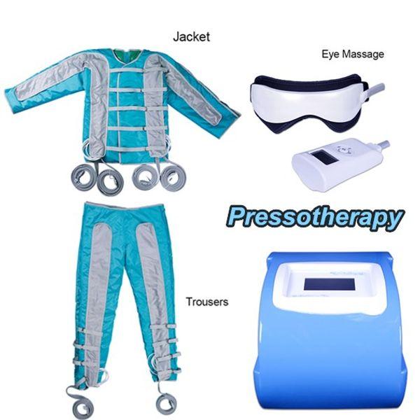 pressotherapy pants slimming massaging machine far infrared sauna lymphatic drainage suit lymph massage machine portable air vacuum