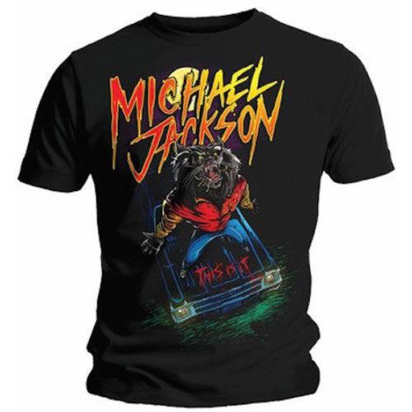 Camisa limitada de Michael Jackson Werewolf