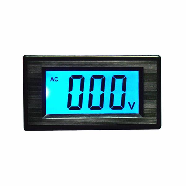 Yüksek Kaliteli AC80-500V iki telli LCD Dijital Ekran AC Gerilim Metre / Voltmetre AC220V 380 V