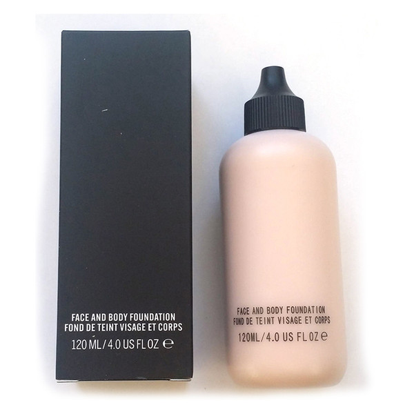 2018 HOT Sale Makeup Face and Body Fondotinta FOND DE TEINT VISAGE ET CORPS 120ml spedizione gratuita