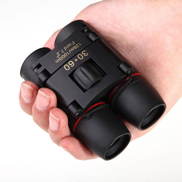 Day Night Vision Binoculars 30 x 60 Zoom Outdoor Travel Optical Military Folding Telescope