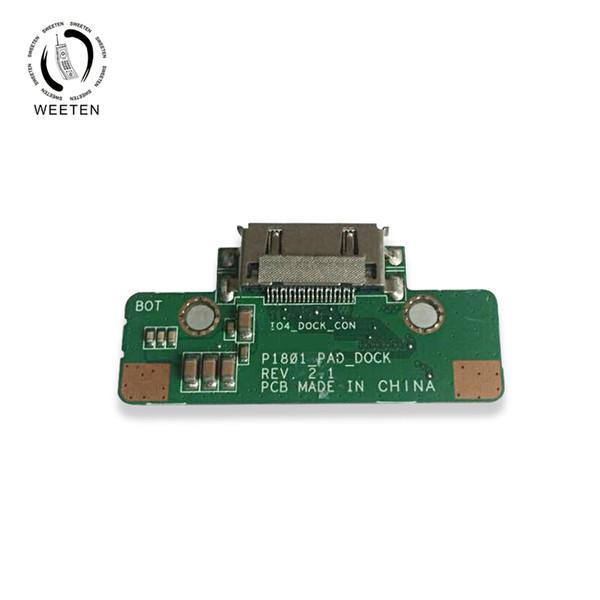 Original Pad Pad Dock Board Placa Para Asus Transformer AiO P1801 teclado Connector module Reparação de Substituição P1801_PAD_DOCK