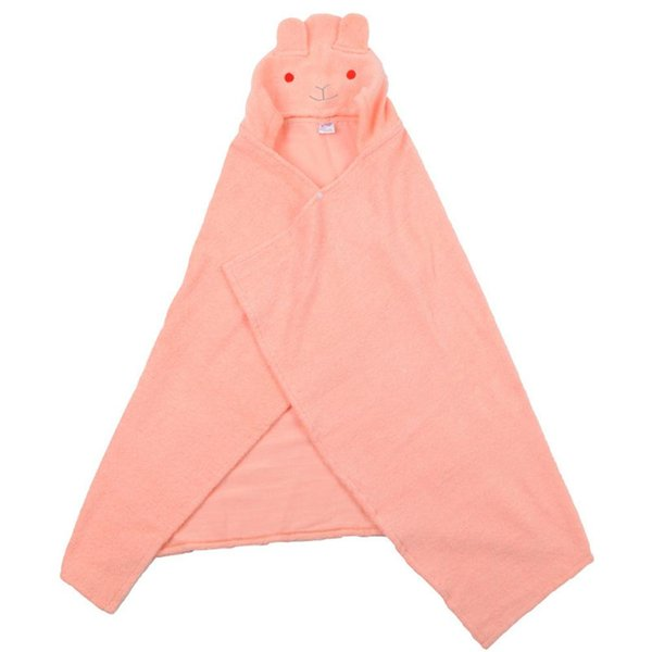Kids Towel 2018 Toddler 100% Cotton Bathrobe Baby Boys Girls Cartoon Animal Hooded Bath Towel Children Cartoon Bathrobe Cloak