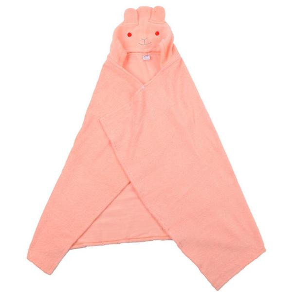 Serviette pour enfants 2018 Toddler 100% coton Peignoir Bébé Garçons Filles Animal De Bande Dessinée Serviette De Bain À Capuche Enfants Cartoon Peignoir Cloak