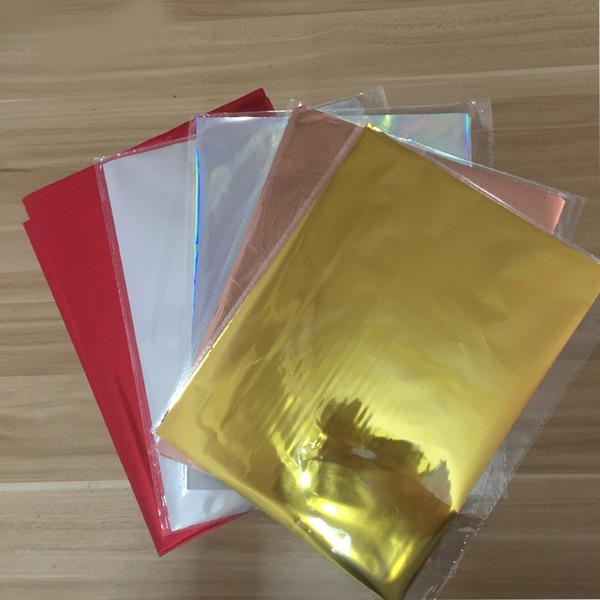 Großhandel Mischte Farben Heißprägefolie Papier Laminator übertragung Auf Eleganz Laserdrucker Heisspressen Handpapier 20x29cm Von Zhiliantan1 11 06