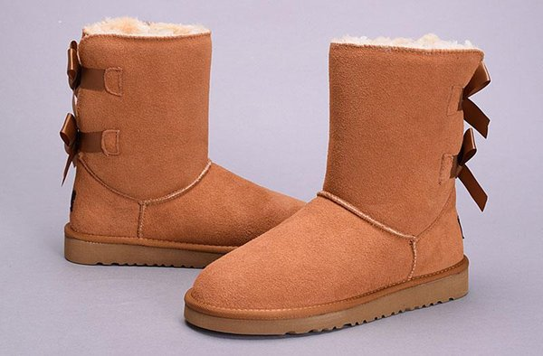 WGG New High Quality Women Australia Classic tall Boots lady girl boots Boot black chestnut coffee Snow Knee boots leather shoes Eur 36-41