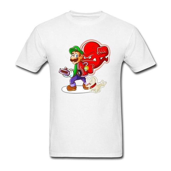 Luigis Herrenhaus Dark Moon Spiel T-Shirt für Männer