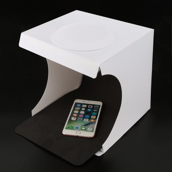 wholesale Portable Lightbox Softbox LED Folding Mini Photo Studio Light box Room Photography Backdrop Light Box Softbox Tent Kit