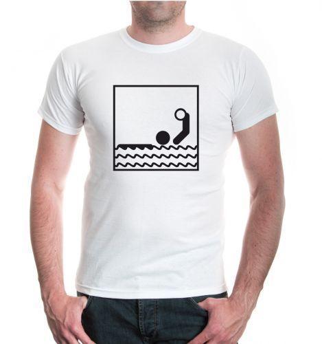 Херен мужская футболка Wasserball-Piktogramm Ballsport Wassersport Водное поло