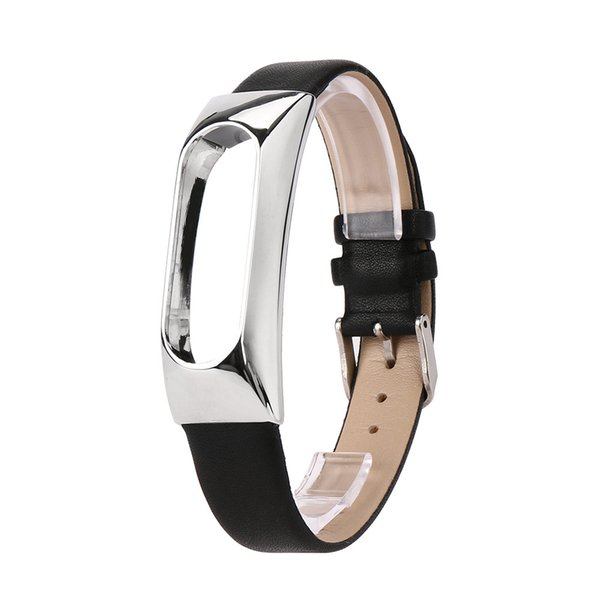 GEMIXI Ersatz Armband Band Strap + Metallgehäuse Für Xiaomi Mi Band 2 Armband Aug9 p30
