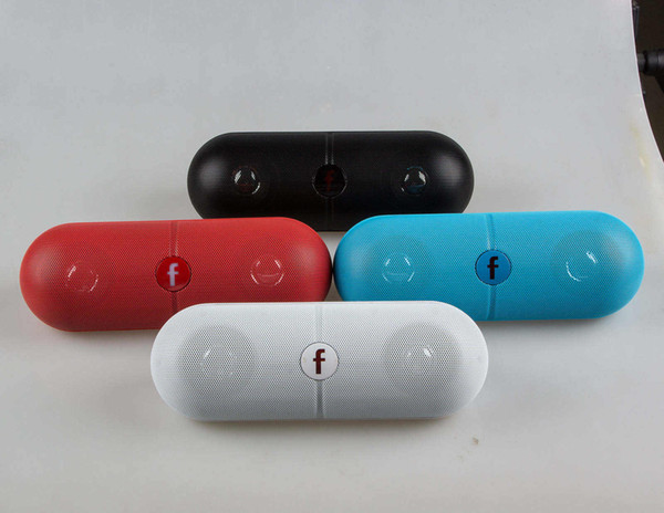 Mini Portable Pill XL pill Bluetooth Speaker With Portable Card Insert U disk Subwoofer Factory Direct