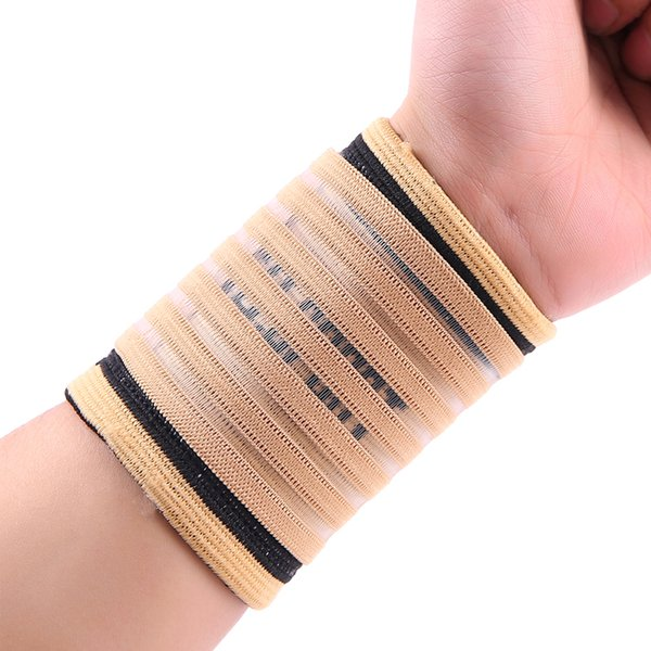 1PCS sports equipment basketball volleyball fitness gym wrist bandages pads support #ST3148
