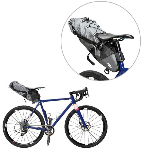 Waterproof Bicycle Saddle Bag Bike Tail Seat Storage Bags Cycling Rear Pack 10L Max Cycling Equipment