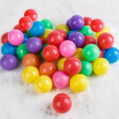 top popular Marine Ball Colorful Ball Soft Plastic Ocean Ball Funny Kids Sand Play Swim Pit Toys Water Pool Fun Wave Balls Outdoor Play YFA204 2020