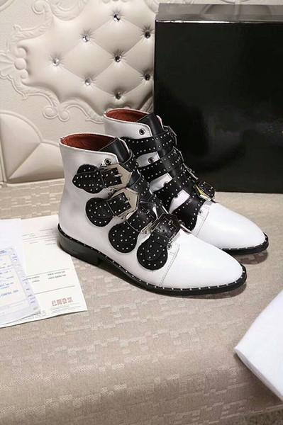 2019 YENI Lüks deri rahat ayakkabılar Kadınlar Tasarımcı sneakers erkek ayakkabı hakiki deri Karışık renk ys180711