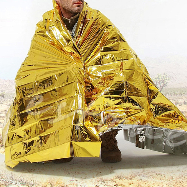 Waterproof Outdoor Rescue Blanket Emergency Survival Foil ThermalCompact