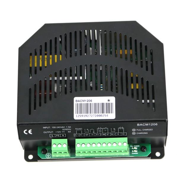 BACM1206 (12V için uygun) akü şarj cihazı Nominal Giriş Voltajı (100 ~ 240) V Maks. Giriş Akımı 1.5A