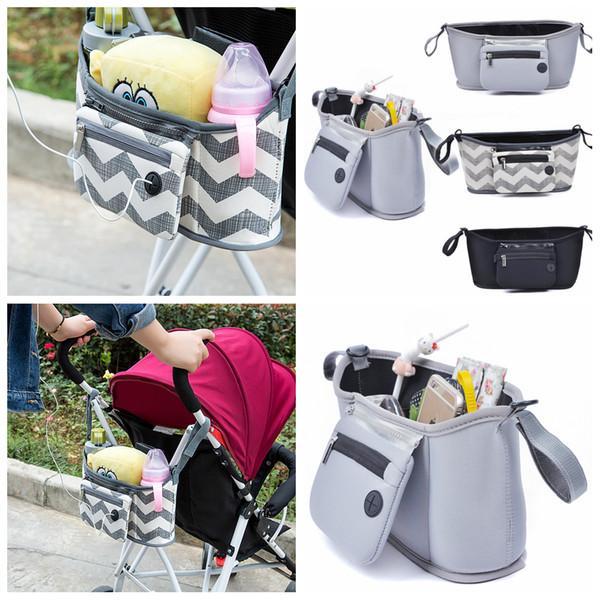 3styles passeggino appeso organizzatore sacchetto di immagazzinaggio borsa da viaggio pannolino biberon organizzatore cestino auricolare sacchetto del pannolino borse mummia FFA701