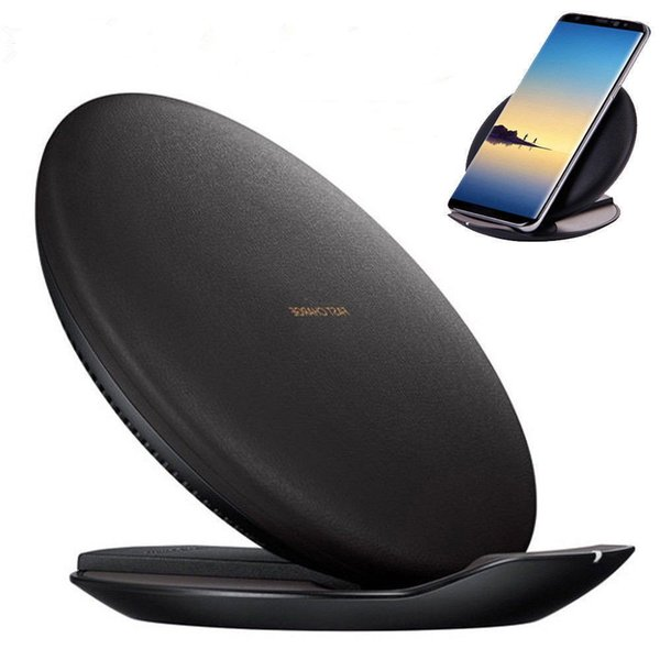 Original SAMSUNG GALAXY S8 S8+ NOTE 8 S7 S6 S6 for iphone 8/x Wireless charger fast charger with Ventilator EP-PG950 black brown