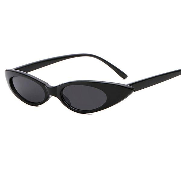 2018 Frauen Kleine Katzenaugen-sonnenbrille Klassische Marke Design Kleine Wassertropfenform Sonnenbrille Weibliche Oculos UV400 W45
