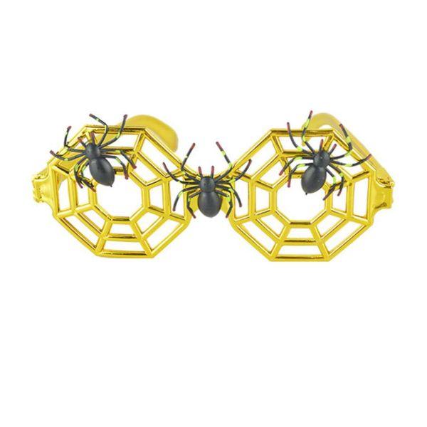 Stilvolle Radsportbrille Halloween-Party Requisiten schöne Spinnenbrille Web-Dress up Brille Brillen makellose Brille