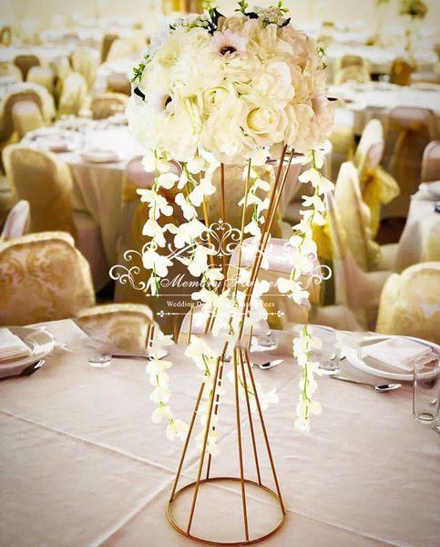 Düğün Dekoratif Düğün Sütunları Olay Parti Pillar Klasik Dekorasyon Çiçek Standı Vazo Çiçek Bitki Pot Centerpiece