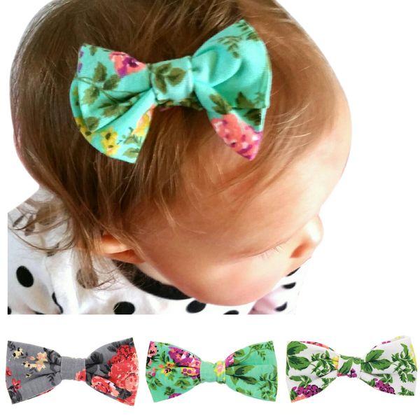 12pcs Drop Shipping Big Bow FLOWER Children Kids Baby Girls Hair Accessories Clip Hairpins Barrettes Headwear Flower Retail Wholesale HC007