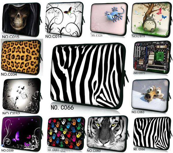 Новый повседневная мода стиль компьютер сумка неопрена ноутбук сумка  случаях водонепроницаемый противоударный ноутбук рукав красочные мульти  размер a765434b74e28