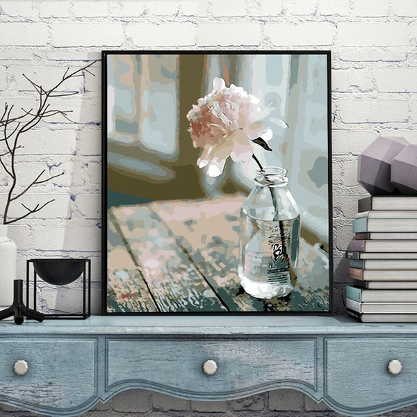 Flowers rose Full drill diamond painting cross stitch 5D diamond embroidery round resin diamond picture mosaic home decoration