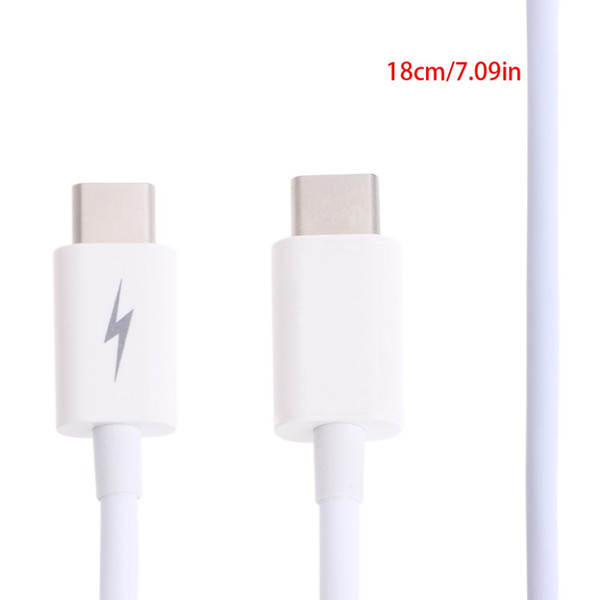 USB 3.1 Type C (USB-C) Male To Male Data Sync Charging Connector Adapter Cable #4XFC# Drop Ship