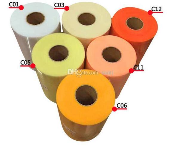 Nouveau Tulle Rouleau 15 cm 100 Mètres Rouleau Tissu Bobine Partie Cadeau Wrap De Mariage D'anniversaire Décoration Décoratif Artisanat Fournitures