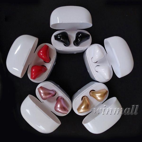 I7S TWS drahtlose Bluetooth Kopfhörer Ohrhörer In-Ear-Ohrhörer V4.1 mit Ladebox Zwillinge Mini im Retail-Paket für iPhone Android Phone