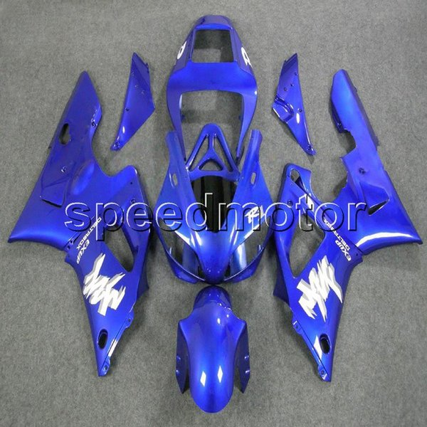 Custom+Screws blue YZFR1 98-99 YZF-R1 1998 1999 ABS motorcycle fairing article for Yamaha