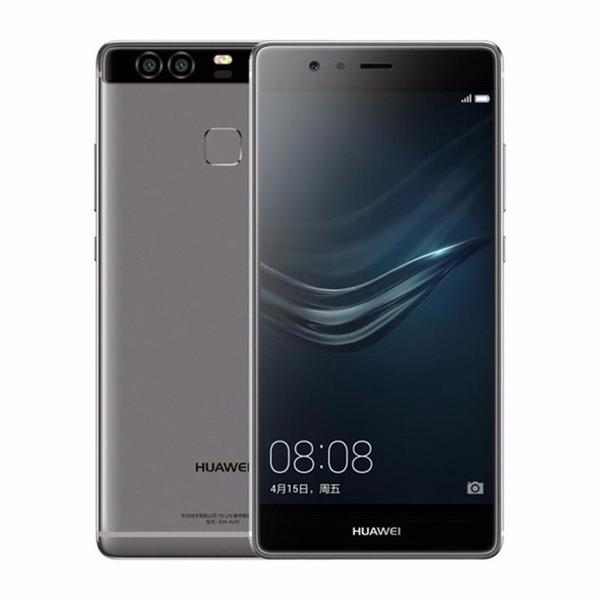 Remanié d'origine Huawei P9 4G LTE 5,2 pouces Octa Core 3 Go / 4 Go de RAM 32 Go / 64 Go ROM 12MP Appareil photo Dual SIM Android Cell Phone gratuit Free DHL 1pcs