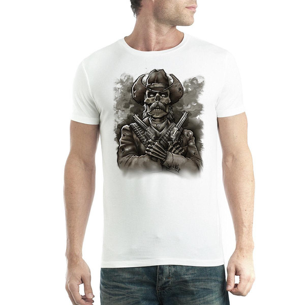 T-shirt da uomo Gunslinger Dead Cowboy XS-5XL Novità